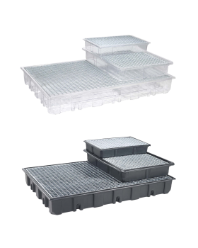 140 litre collecting-trays, 830x1230 mm